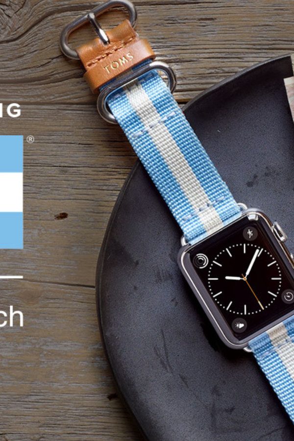 TOMS Apple Watch Bands With Charitable Bonus Make Their Debut