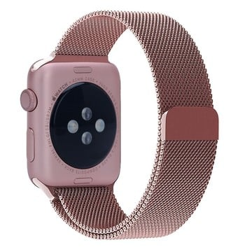 The Best Non-Apple Rose Gold The Best Replica Milanese Loop Apple Watch Band