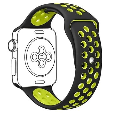 The Best Non-Apple Lime Green The Best Replica Nike Sport Apple Watch Band