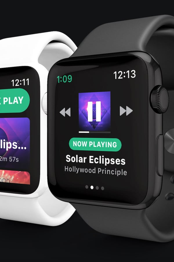 A Snowy Forecast as Spotify Set to Launch on Apple Watch