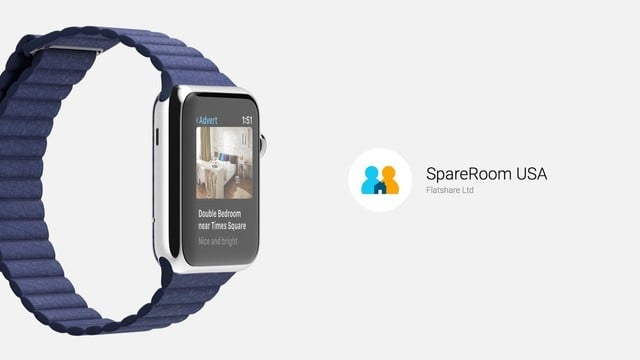 Find a Roommate on Apple Watch With SpareRoom USA