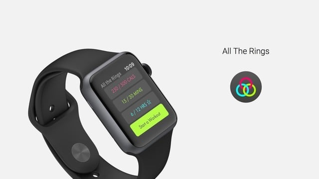 All the Rings: The Perfect Apple Watch Activity Companion
